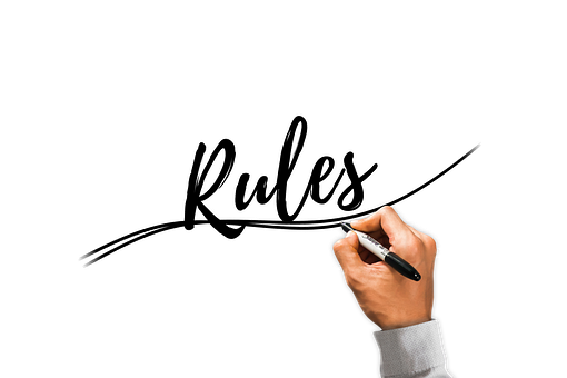 rules for writing articles
